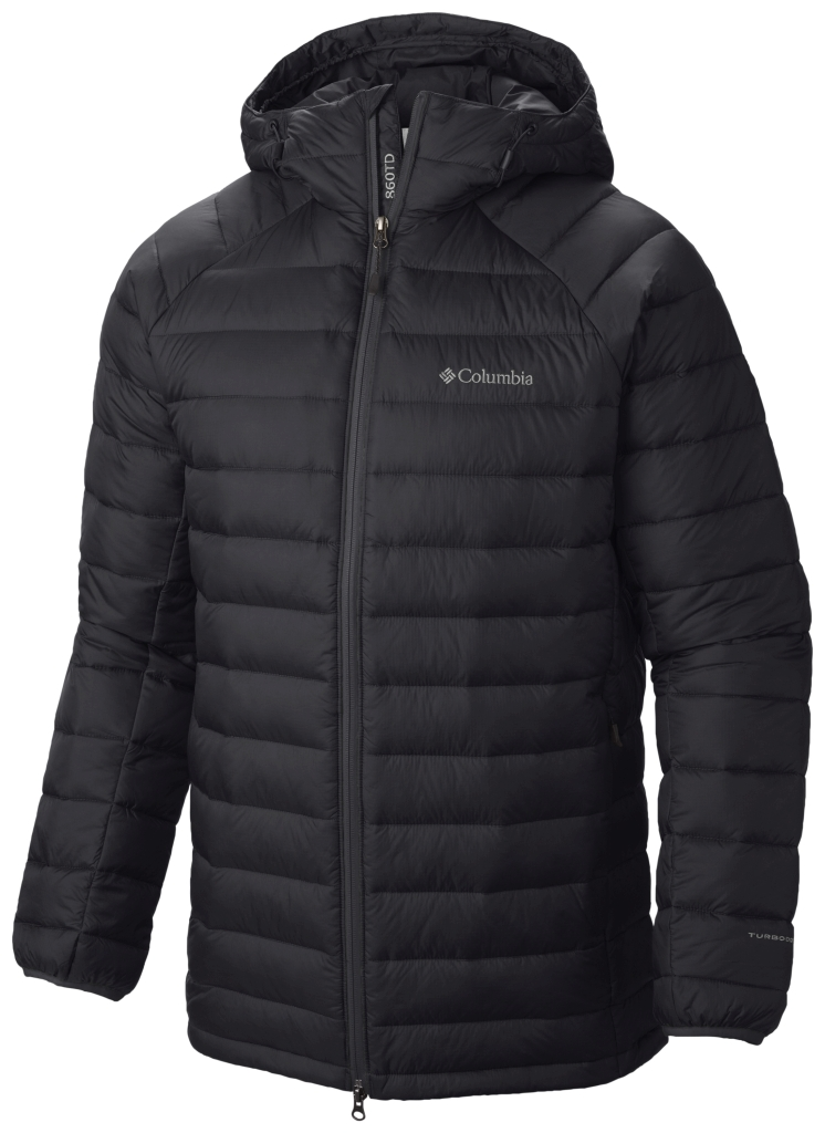 Columbia Platinum 860 Turbodown Herrenjacke Mit Kapuze Black-30