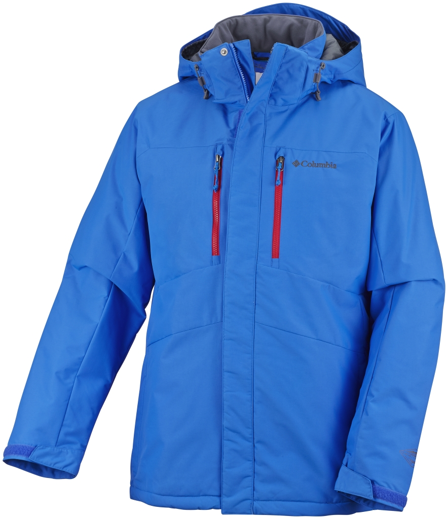 Columbia Men´s Alpine Vista II Jacket Hyper Blue-30