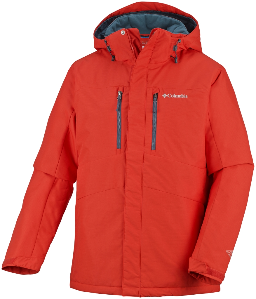 Columbia Men´s Alpine Vista II Jacket Spicy-30