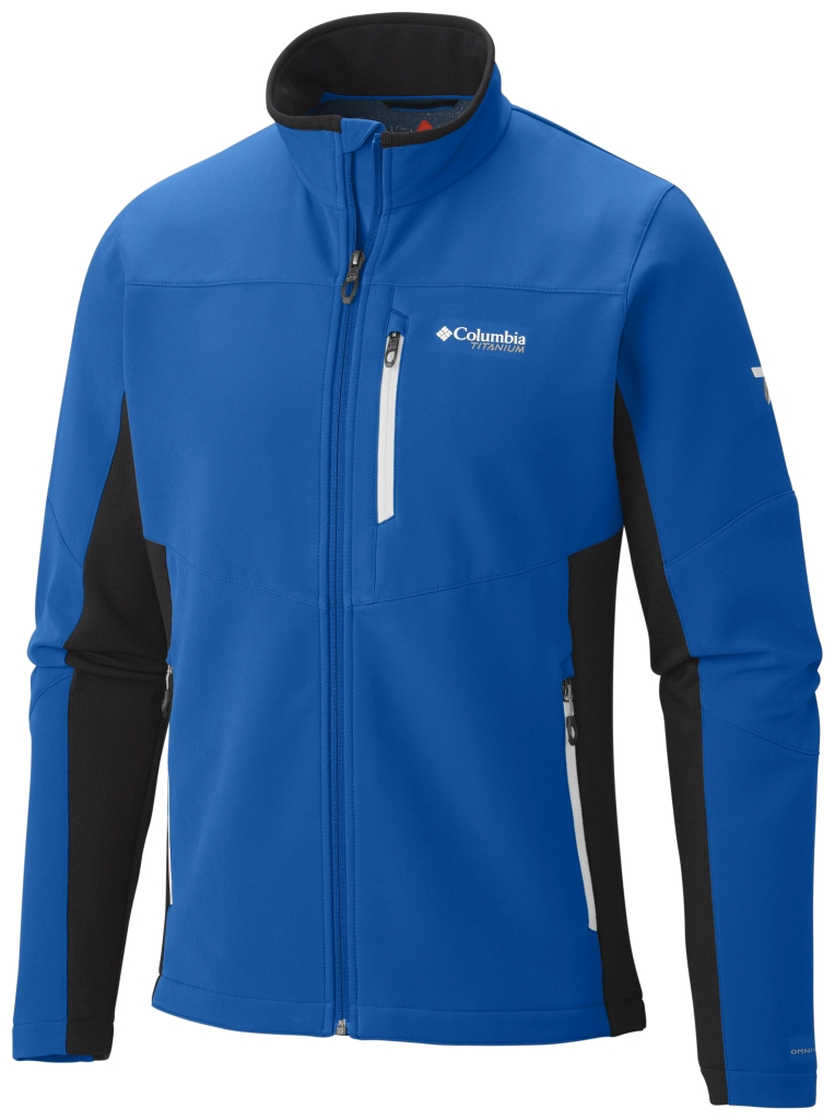 Columbia Men's Titan Ridge Hybrid Jacket Hyper Blue-30