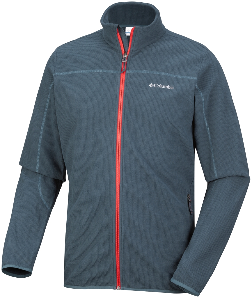 Columbia Trails Edge Fleecejacke für Herren Night Shadow Spicy-30