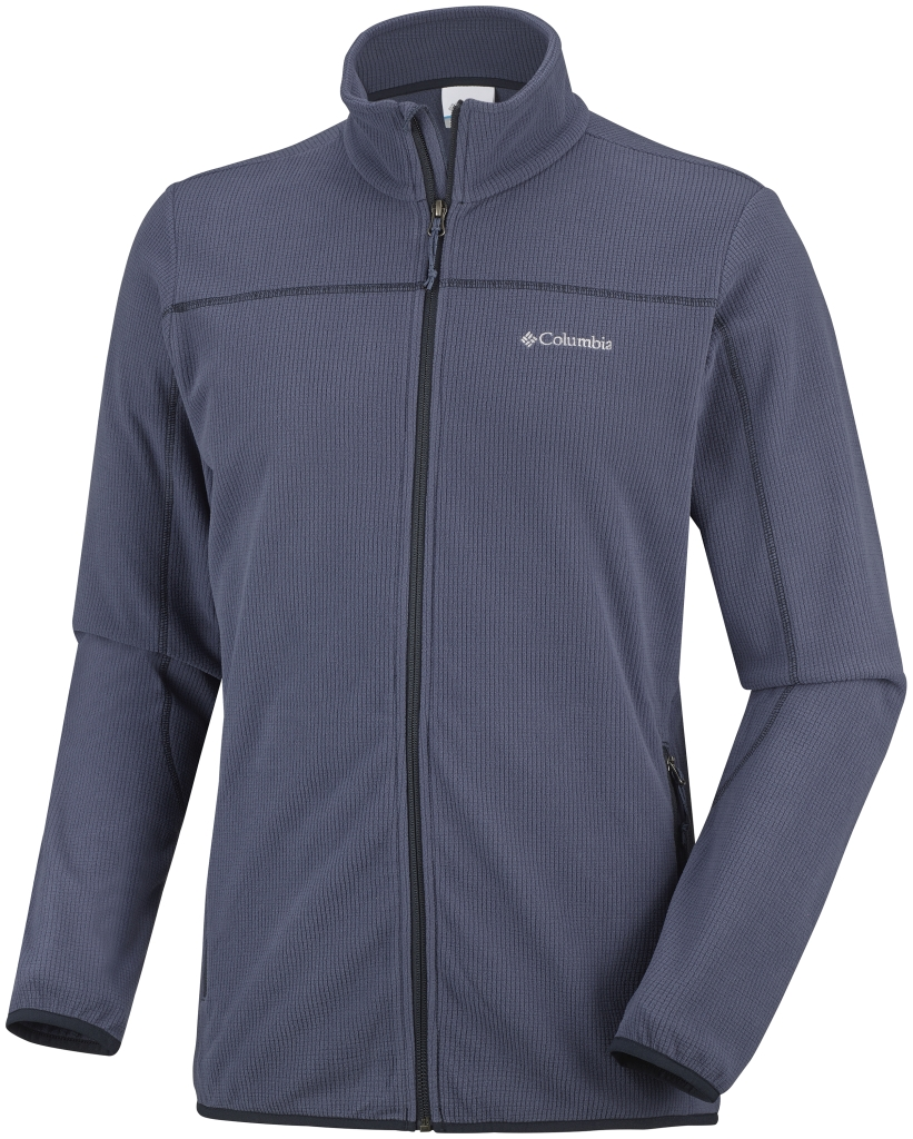 Columbia Men's Trails Edge Fleece Jacket Nocturnal Abyss-30