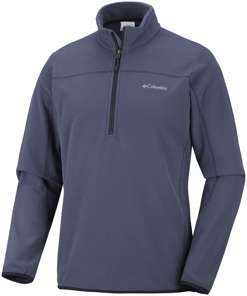 Columbia Men's Trails Edge Half Zip Fleece Nocturnal Abyss-30