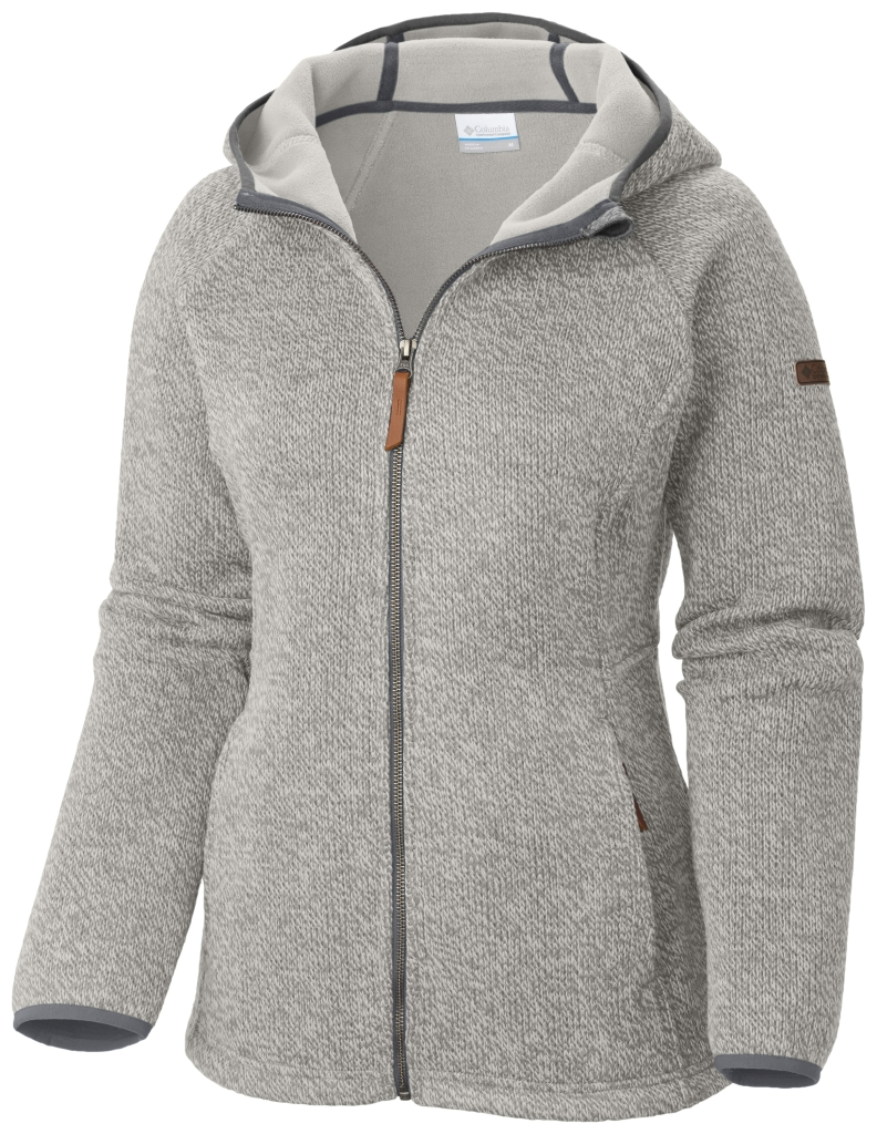 Columbia Canyons Bend Full-Zip-Hoodie Für Damen Sea Salt-30