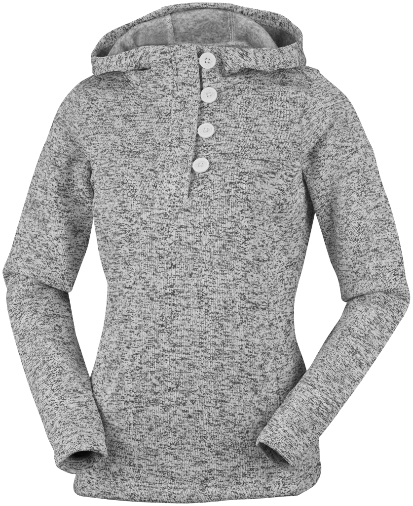 Columbia Women´s Darling Days Pullover Hoodie Sea Salt Heather-30
