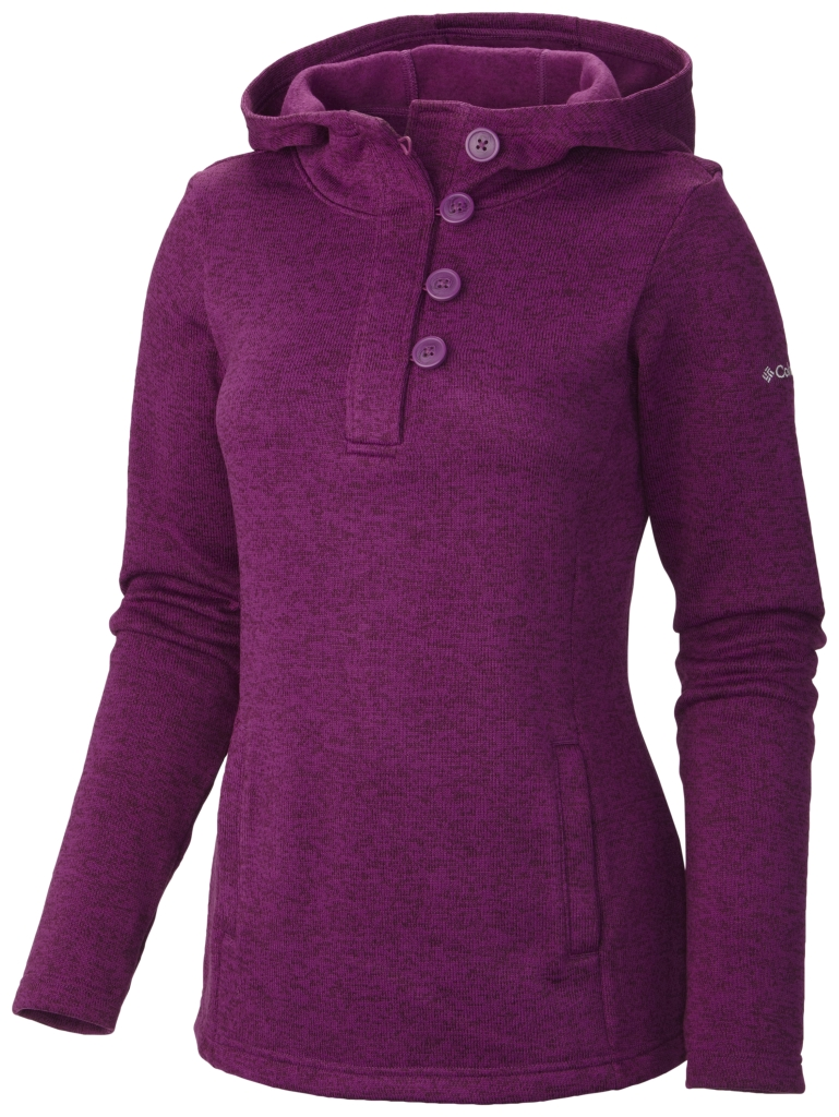 Columbia Women´s Darling Days Pullover Hoodie Plum Heather-30