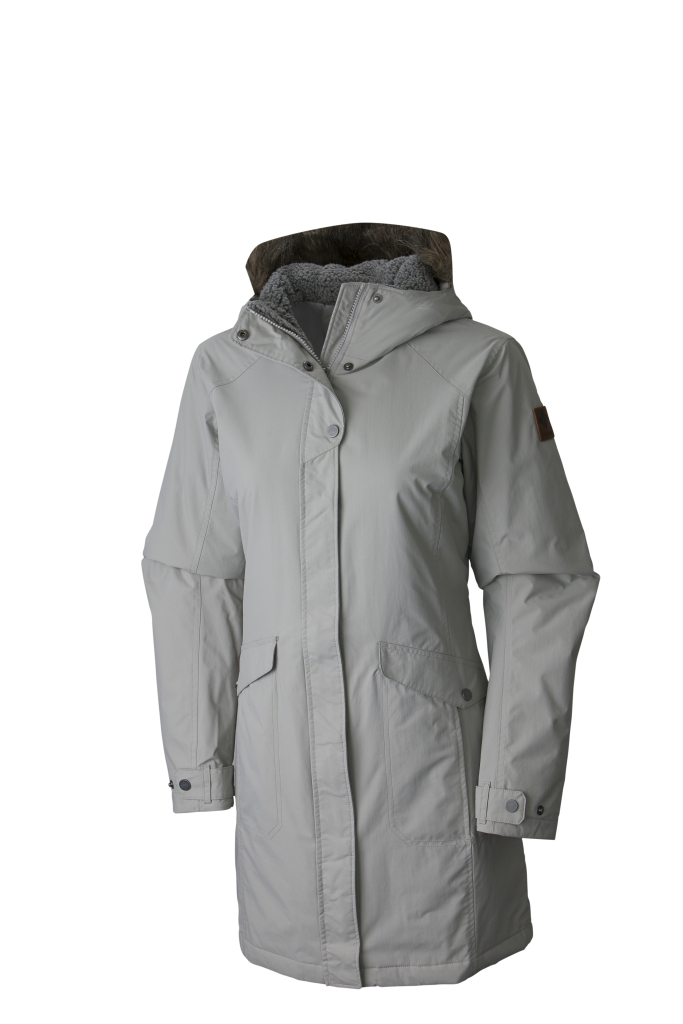 Columbia Women´s Grandeur Peak Long Jacket Flint Grey-30