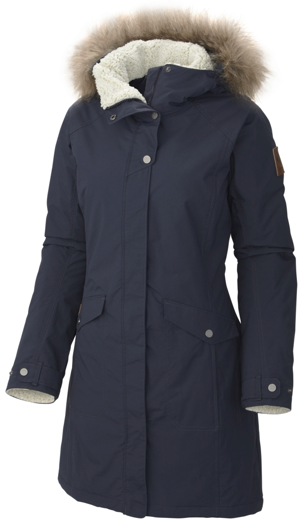 Columbia Women´s Grandeur Peak Long Jacket India Ink-30