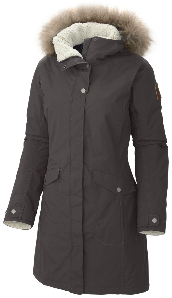 Columbia Women´s Grandeur Peak Long Jacket Mineshaft-30