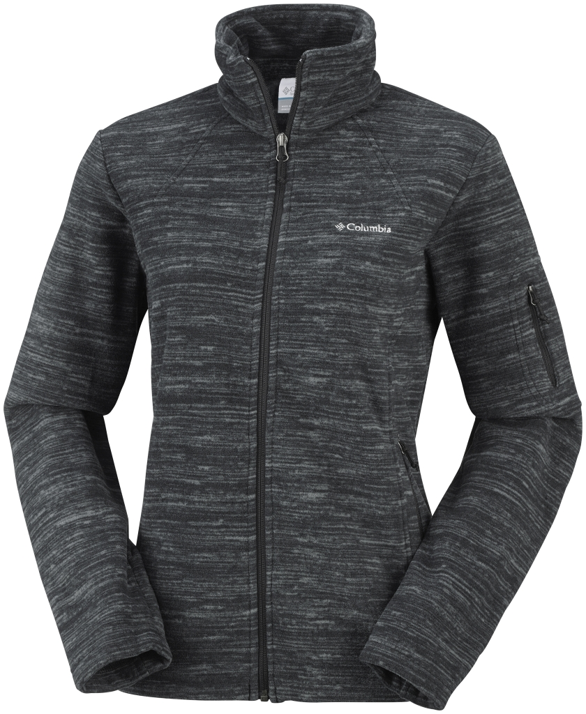 Columbia Women´s Fast Trek Printed Jacket Black Spacedye-30
