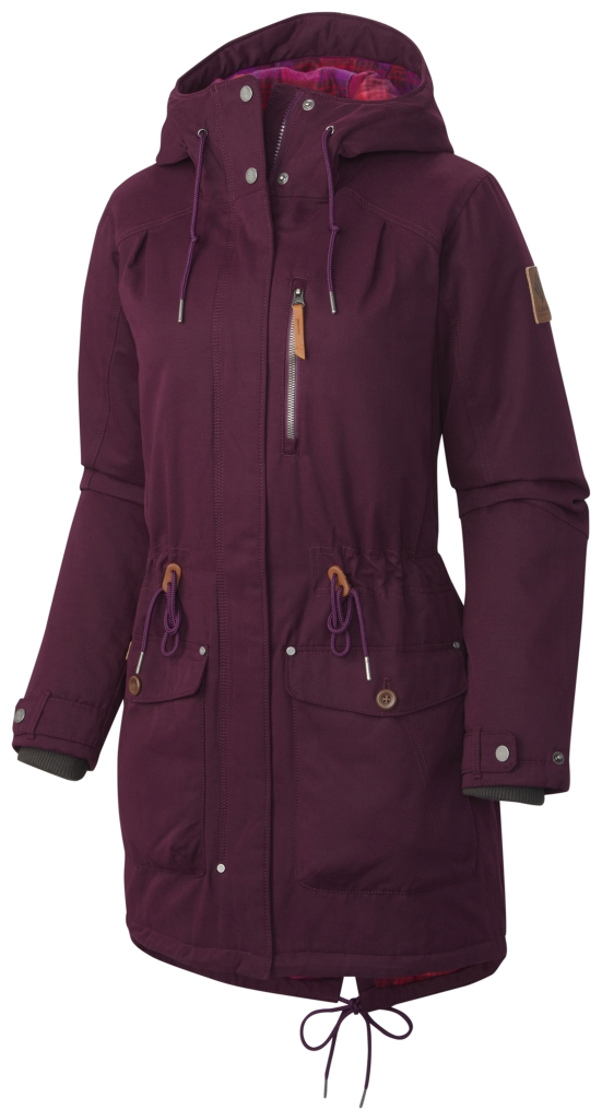 Columbia Canyon Cross Jacke Für Damen Purple Dahlia-30