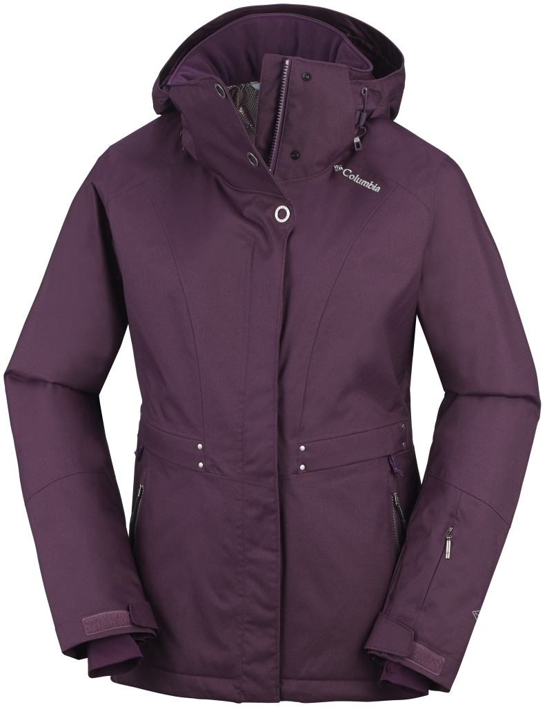 Columbia Women´s Winter Thrills Jacket Purple Dahlia-30