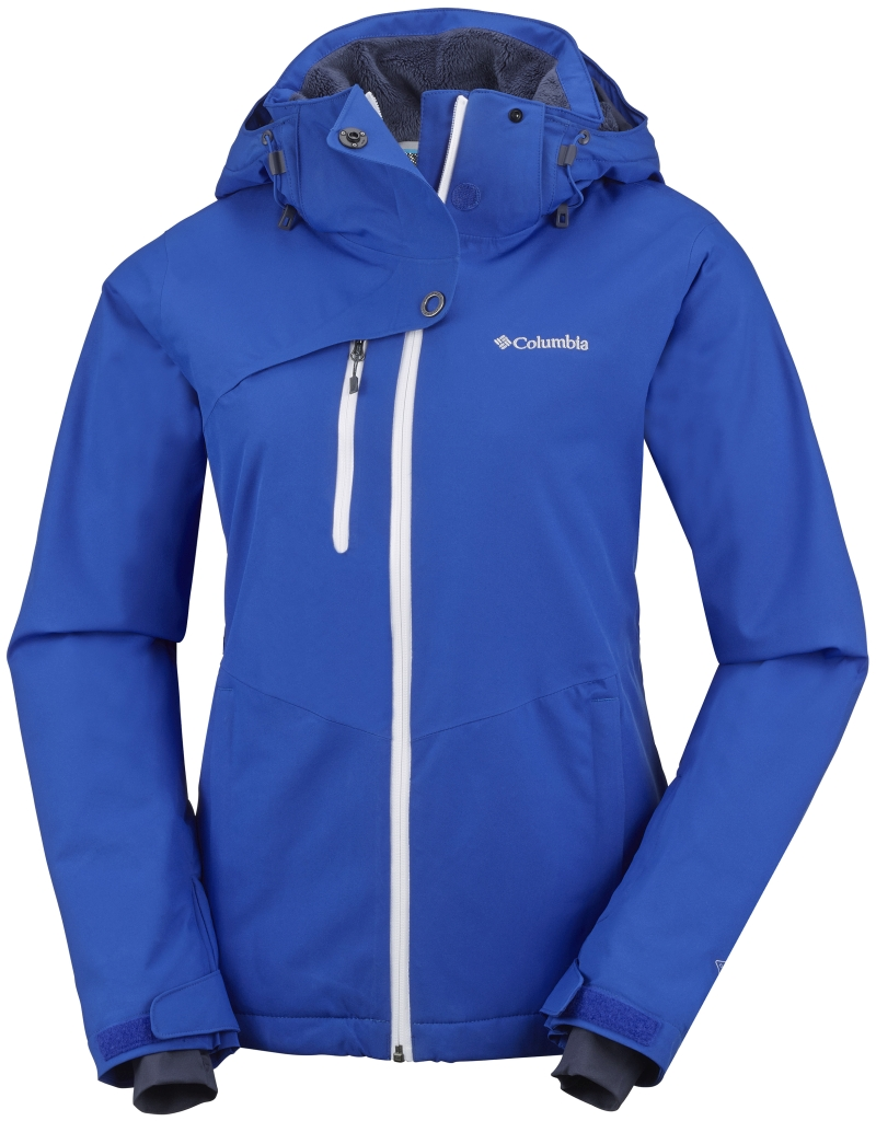 Columbia Women's Mile Summit Jacket Blue Macaw-30