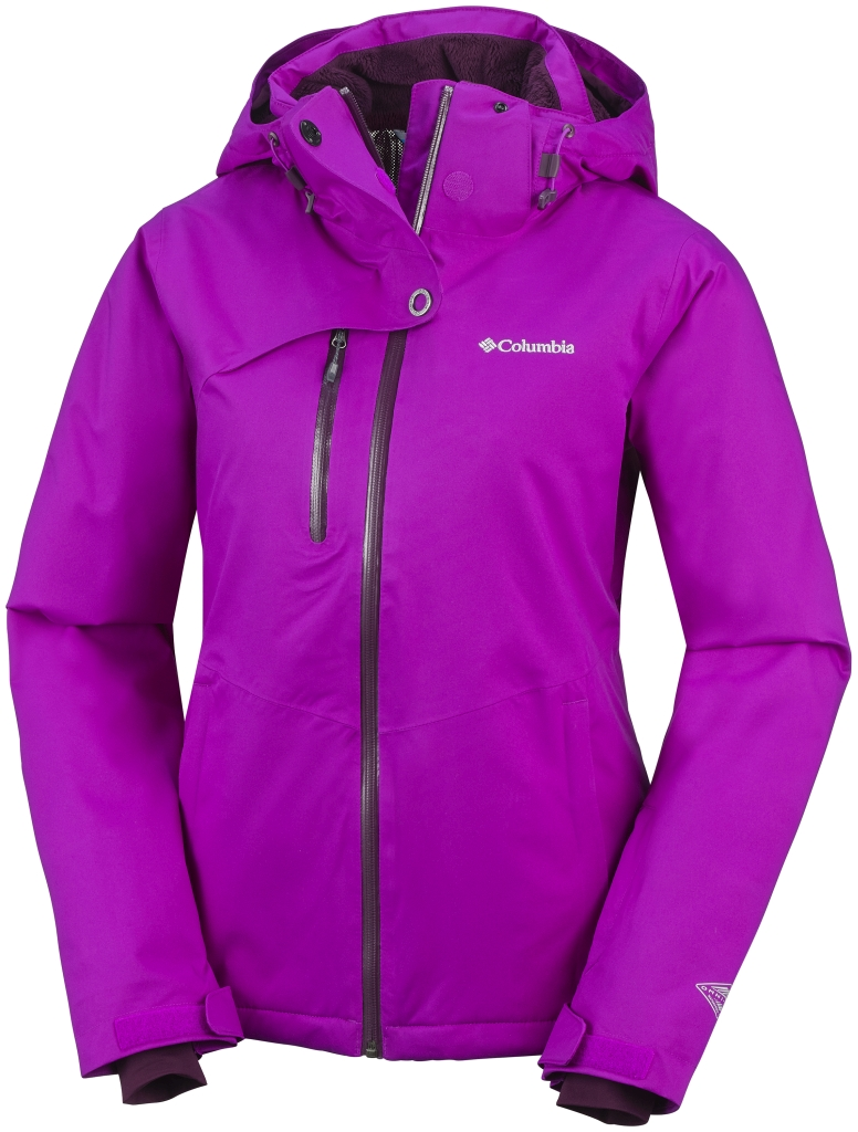 Columbia Women's Mile Summit Jacket Bright Plum-30