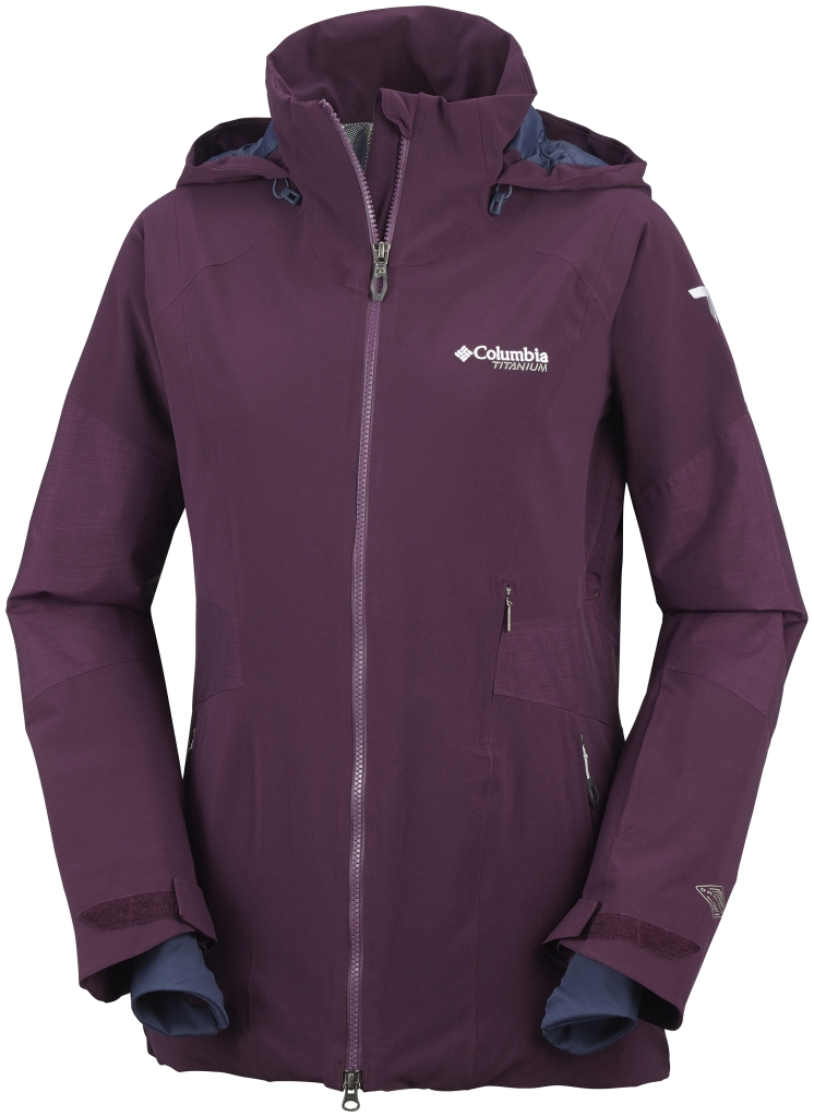Columbia Women´s Carvin' Jacket Purple Dahlia-30