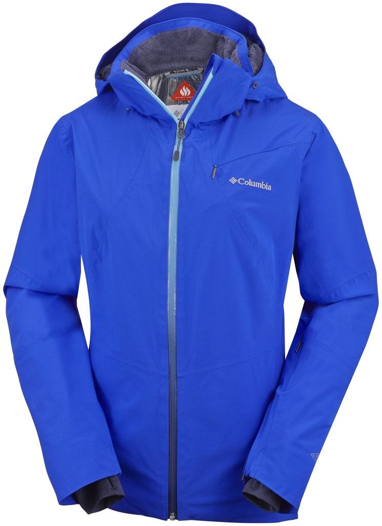 Columbia Women's Millenium Blur Jacket Blue Macaw-30