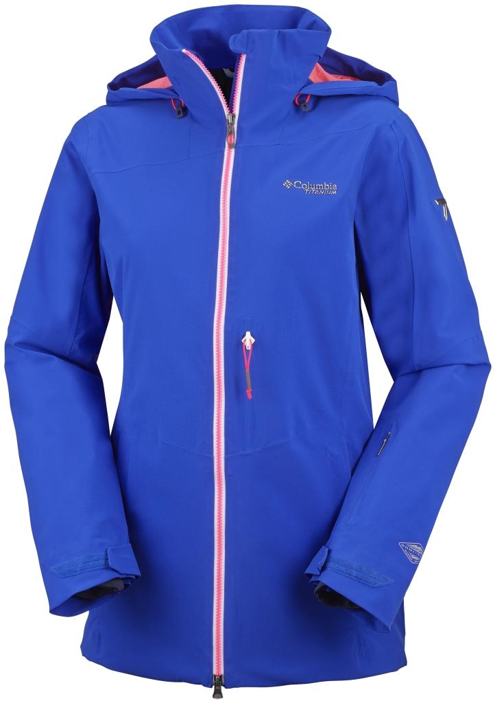 Columbia Women's Shreddin Jacket Blue Macaw-30