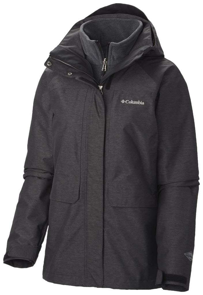 Columbia Women's Mystic Pines Interchange Jacket Black-30