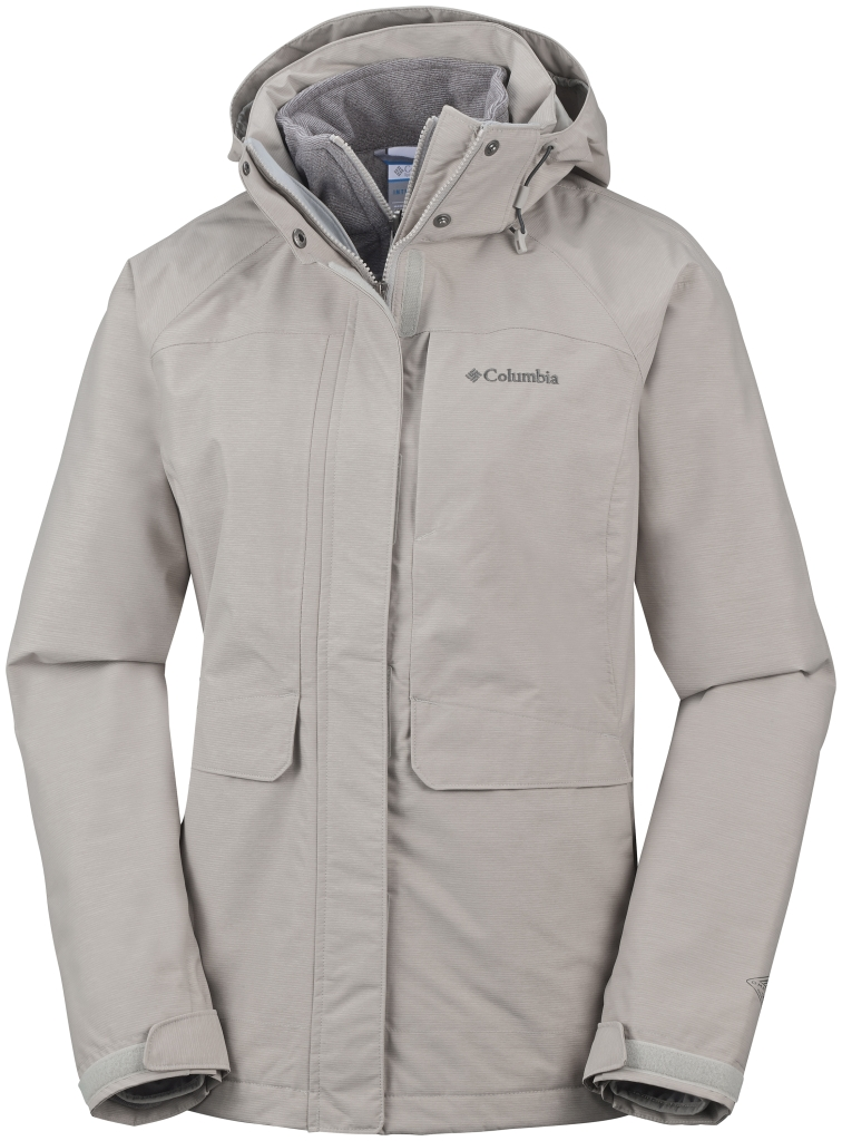 Columbia Women's Mystic Pines Interchange Jacket Flint Grey-30