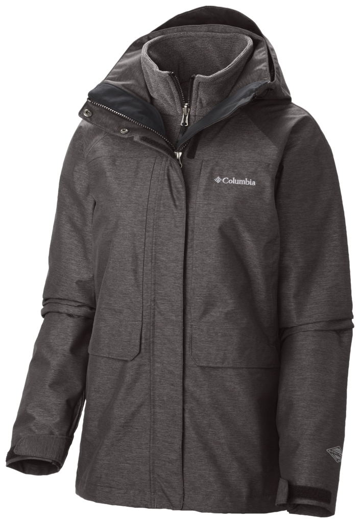 Columbia Women's Mystic Pines Interchange Jacket Mineshaft-30