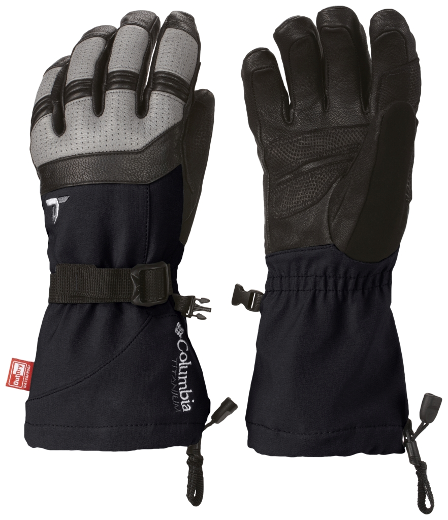 Columbia Women's Winter Catalyst Glove Black Light Grey-30