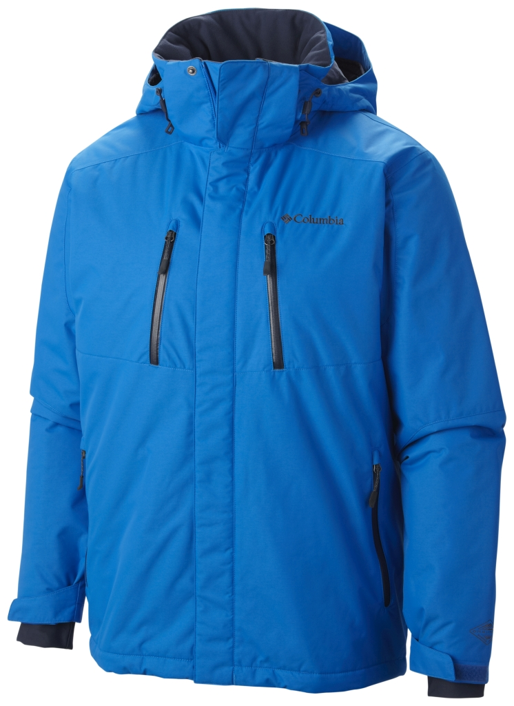 Columbia Men's Tetragon Jacket Hyper Blue Nocturnal-30