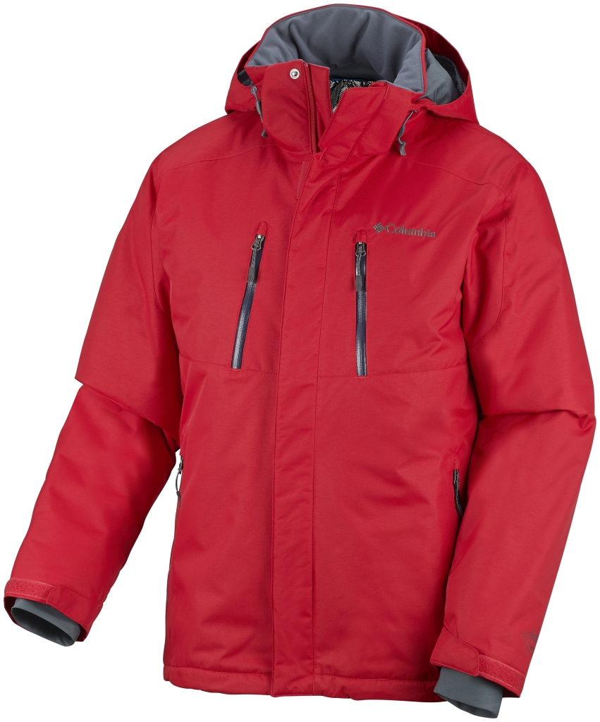 Columbia Men's Tetragon Jacket Bright Red-30