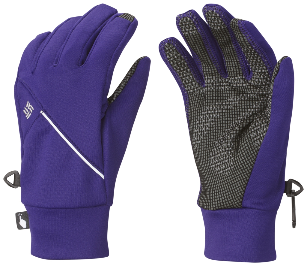 Columbia Women's Trail Summit Running Glove Hyper Purple-30