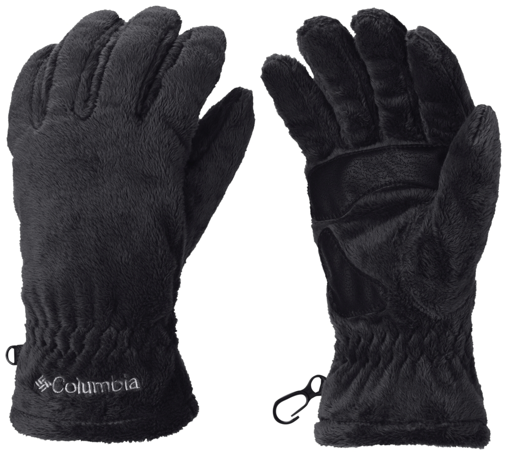 Columbia Women's Pearl Plush Glove Black-30