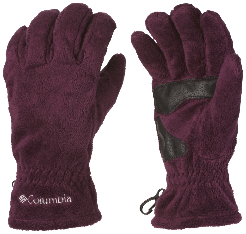 Columbia Women's Pearl Plush Glove Purple Dahlia-30
