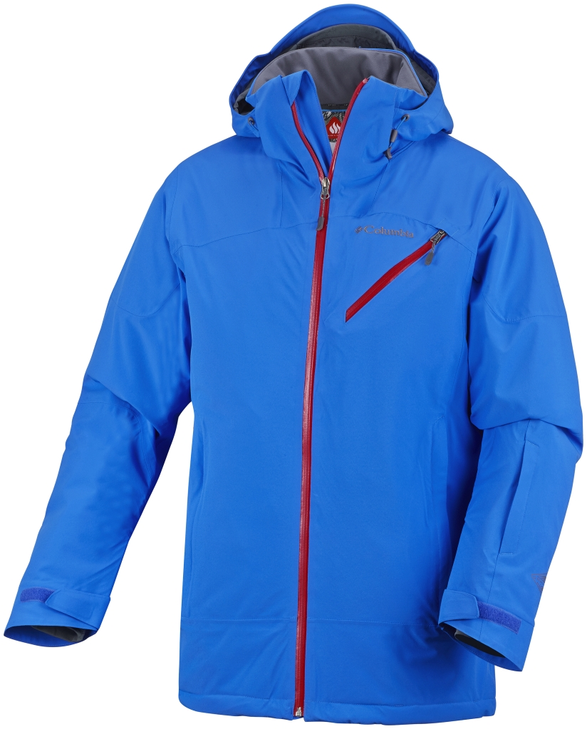 Columbia Men's Wild Card Jacket Hyper Blue Marine Blue-30