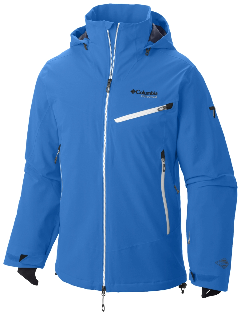 Columbia Men's Carvin' Jacket Hyper Blue-30