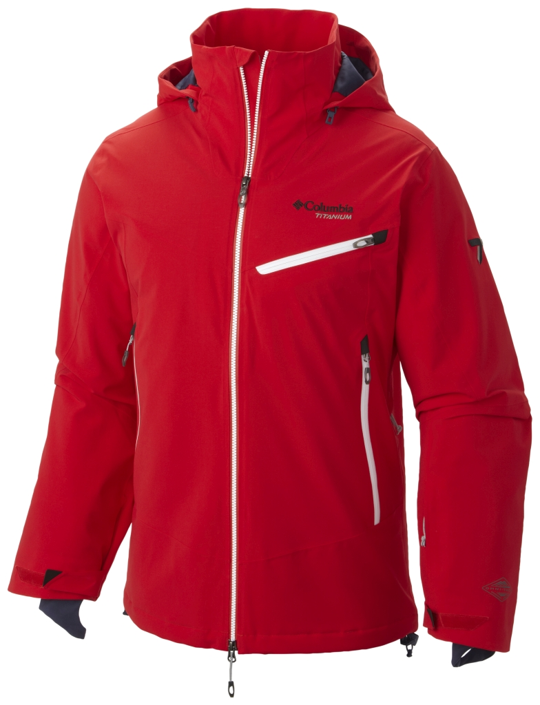 Columbia Men's Carvin' Jacket Bright Red-30