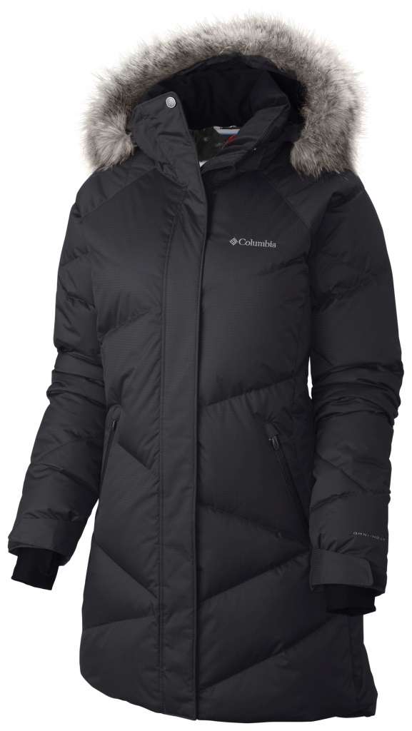 Columbia Women'S Lay D Down Mid Jacket Black Metallic-30