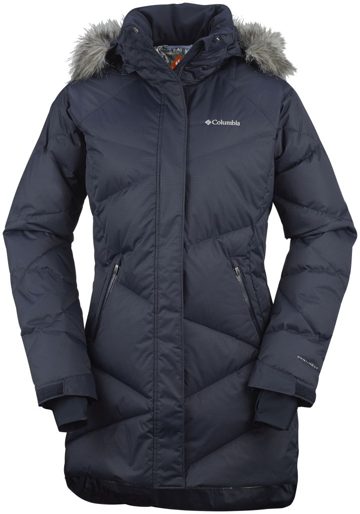 Columbia Women's Lay D Down Mid Jacket Abyss Dobby-30