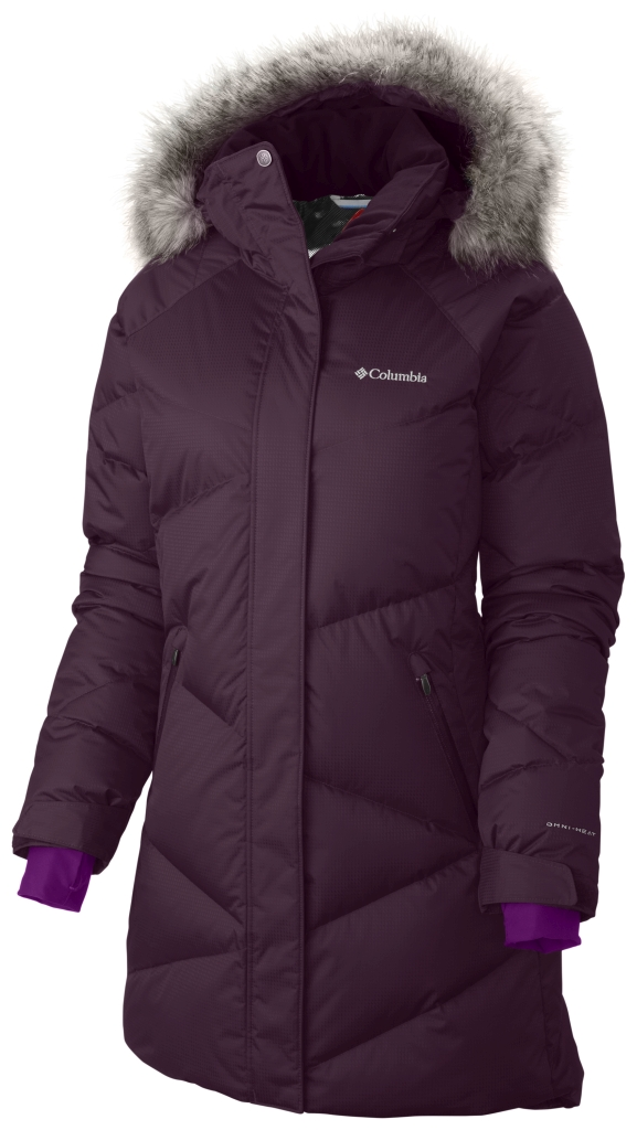 Columbia Women'S Lay D Down Mid Jacket Purple Dahlia Dobby-30