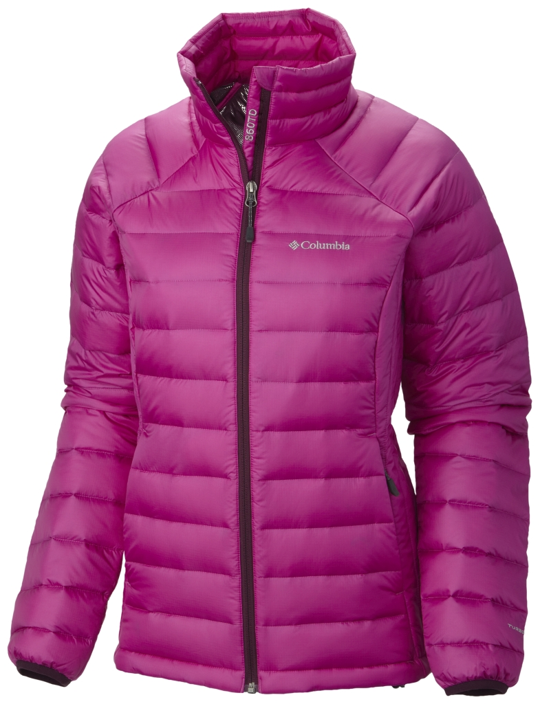 Columbia Women´s Platinum Plus 860 TurboDown Jacket Bright Plum Purple Dahlia-30