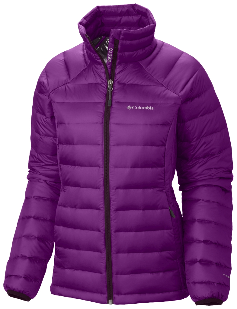 Columbia Women´s Platinum Plus 860 TurboDown Jacket Purple Dahlia Bright Plum-30