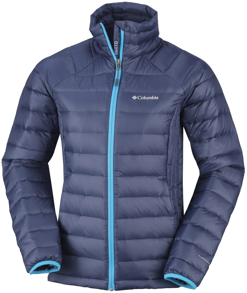 Columbia Women's Platinum Plus 860 Turbodown Jacket Nocturnal Atoll-30