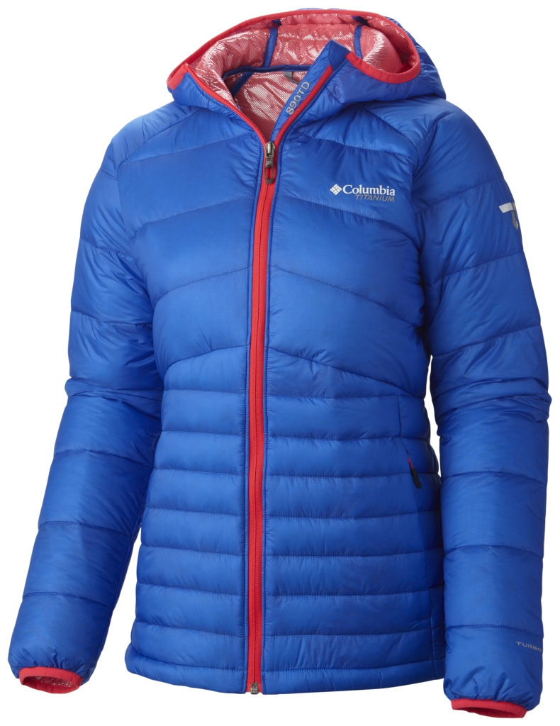 Columbia Women's Diamond 890 Turbodown Jacket Blue Macaw-30