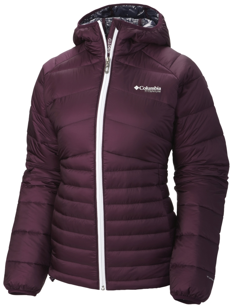 Columbia Women's Diamond 890 Turbodown Jacket Purple Dahlia-30
