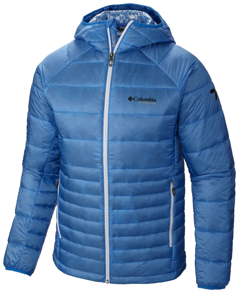 Columbia Men's Diamond 890 Turbodown Jacket Hyper Blue-30