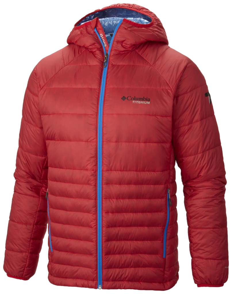 Columbia Men's Diamond 890 Turbodown Jacket Bright Red-30