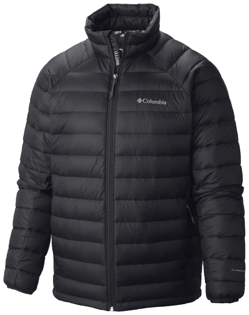 Columbia Men's Platinum Plus 860 Turbodown Jacket Black-30