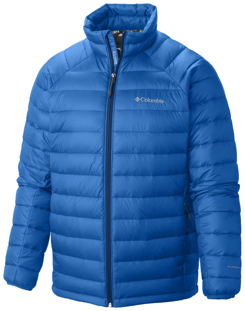 Columbia Platinum Plus 860 Turbodown Herrenjacke Hyper Blue-30