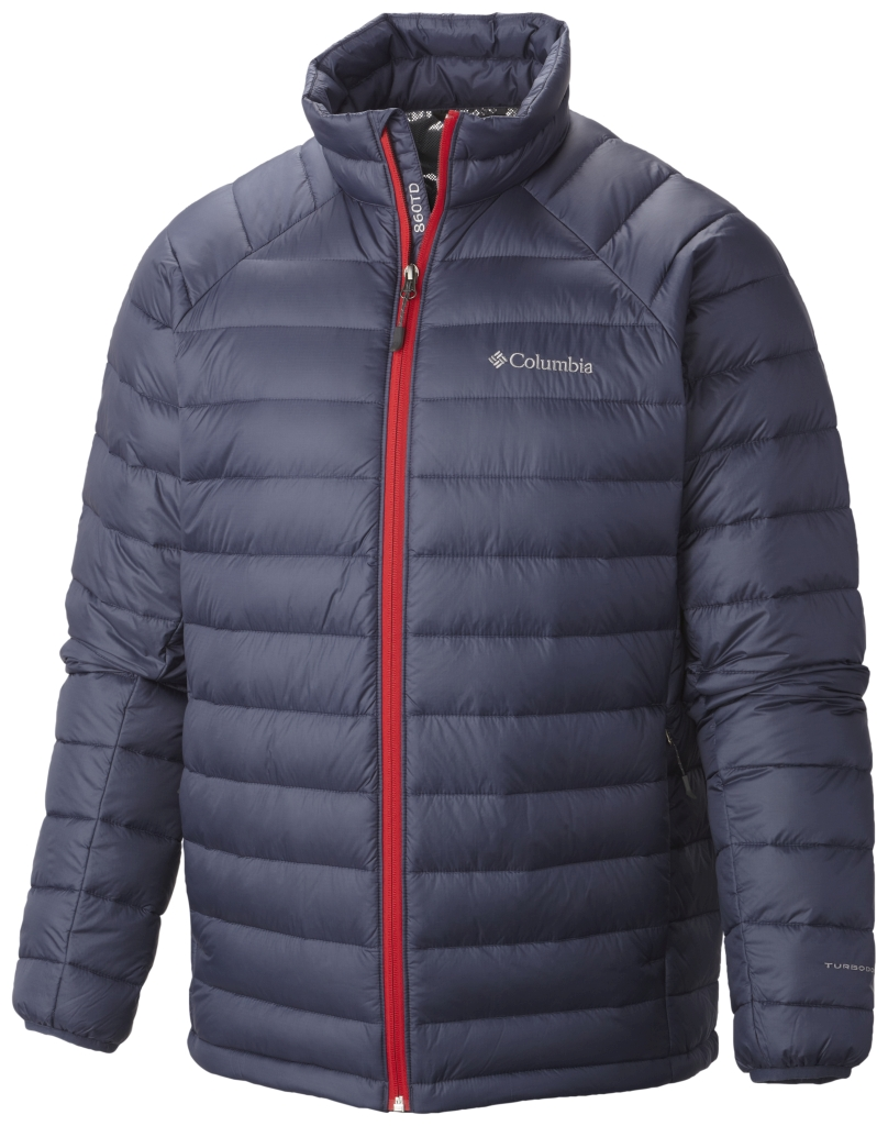 Columbia Platinum Plus 860 Turbodown Herrenjacke Nocturnal-30