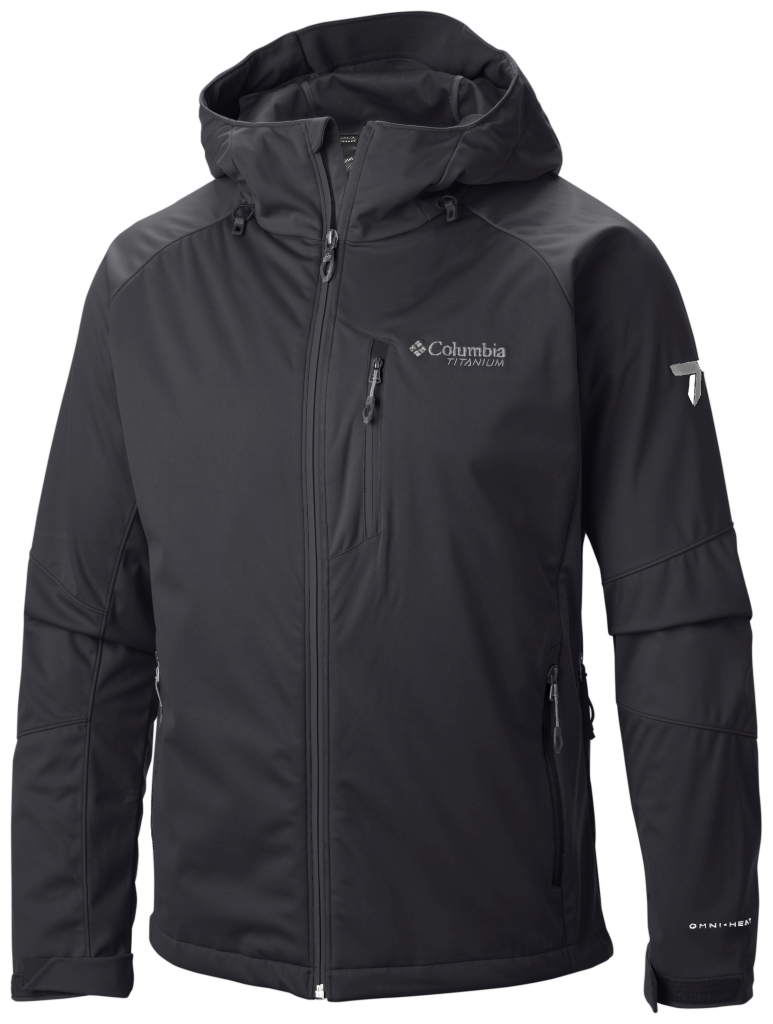 Columbia Men's Zonafied Softshell Black-30