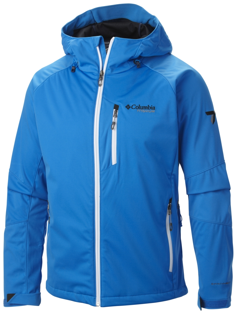 Columbia Men's Zonafied Softshell Hyper Blue-30