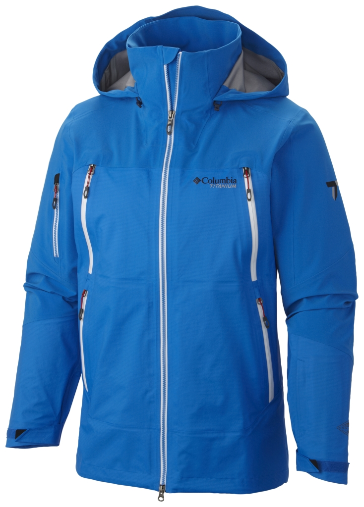 Columbia Men's A Basin Ripper Shell Jacket Hyper Blue-30