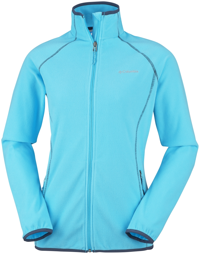 Columbia Women's Trails Edge Fleece Jacket Atoll-30